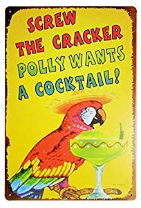Polly want a Saltine Cracker